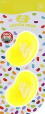 1 x Twin Pack 3D JELLY BELLY Clip Vent DUO Bean Gel LEMON DROP Air Freshener
