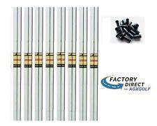 8 True Temper Command Regular Flex Steel Same Length Iron Shafts 370 +9 Ferrules