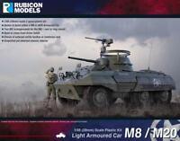 M8/M20 Light Armoured Car 1/56 scale - Rubicon 280028 - P3