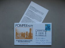 UK GB ENGLAND, eventcover 1976, Royal Academy of Arts, exhib. Pompeii ad 79