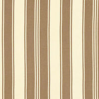 Tanya Whelan Petal French Stripe Taupe Sateen Home Decor Fabric By Yard