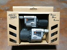 Microshift Digital Drive System 7 Speed Grip Shifters. Shimano Compatible. NOS