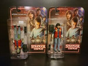 Mcfarlane toys stranger things Lot Will Upside Down Will