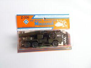 Roco Minitanks 336 Raketenwerfer 110 SF2 Wegmann OVP 1:87 #1047