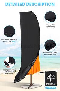 420D Waterproof Parasol  Umbrella Cover Cantilever Shield Outdoor Garden Patio