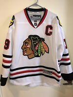 Chicago Blackhawks Jonathan Toews Jersey 100% Authentic Mens Medium Reebok
