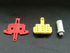 Shimano Road Bleed Funnel Adapter Y0C698050 + Bleed Block + Pad spacer