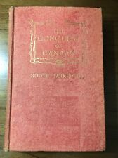SIGNED Conquest of Canaan Booth Tarkington Hardcover First Edition 1905 Illust