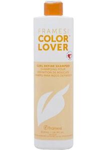 Framesi Color Lover Curl Define Shampoo 16.9OZ Moisturizing Enhancing