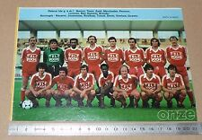 CLIPPING POSTER FOOTBALL 1980-1981 D2 AAJ BLOIS AAJB