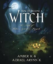 How to Become a Witch Book ~ Wiccan Pagan Witchcraft Supply