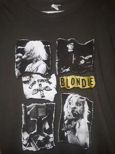 BLONDIE Deborah Harry  Official Concert T Shirt XL 2011