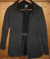 The North Face Women's Jacket Coat Quilted Caroluna Black Size Small