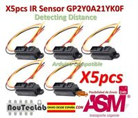 5pcs IR Sensor GP2Y0A21YK0F Measuring Detecting Distance Sensor 10 to 80cm