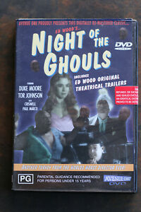 Night Of The Ghouls DVD Ed Wood Duke Moore Tor Johnson