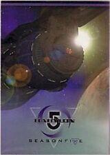BABYLON 5 SEASON 5  BASIC / BASE SET  - 81 cards  by SKYBOX