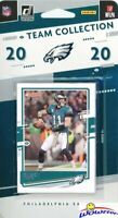 Philadelphia Eagles 2020 Donruss NFL Limited Team Set-Carson Wentz, Jalen Hurts