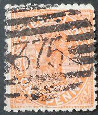 Queensland 1882 1d avec 375 chiffre postmark