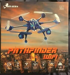 RIVIERA RC -  Pathfinder - Hexacopter - WIFI Drone - Red - PATHFINDER WIFI