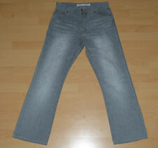 ZARA Jeans grau EUR 44 USA 34 Regular Boot Cut Low Waist Hose Herrenhose Herren
