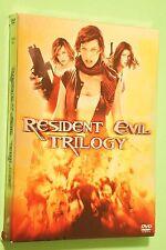 Resident Evil/Resident Evil: Apocalypse/Resident Evil: Extinction (DVD, 2008,...