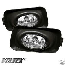 2004-2005 ACURA TSX OEM FOG LIGHTS LIGHTBAR LIGHT BAR LAMP CLEAR
