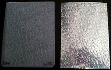 Sizzix Large Embossing Folder COUNTRY FOLIAGE LEAVES fits Cuttlebug 4.5x5.75in