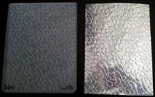 Sizzix grande carpeta de grabación en relieve país Follaje Hojas se ajusta Cuttlebug 4.5x5.75in