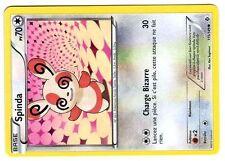POKEMON (NOIR & BLANC) FRONTIERES FRANCHIES N° 115/149 SPINDA