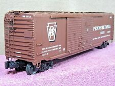 LIONEL SCALE #6-17281 PENNSYLVANIA 50ft DD BOX CAR w/AUTO FRAME LOAD NIB!!