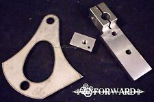 Tattoo Machine Frame Parts Base, Spring Shelf, Jensen  1018 Steel 8-32 American