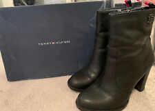 Ladies Authentic Tommy Hilfiger Boots - Size 37 (4) Worn Once