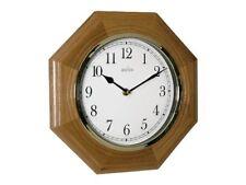 Horloge murale bois Acctim Richmond octogonale