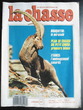 La Chasse n° 489 de juin 88; Bouquetin/ Petit Gibier/ Aménagment étangs canards