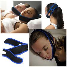 Stop Snoring Chin Strap Snore Belt Anti Apnea Jaw Solution Sleep TMJ Support