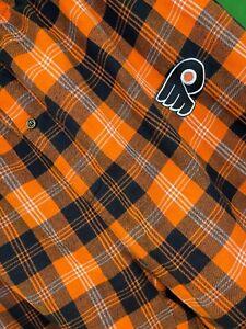 M575/160 NHL Philadelphia Flyers Flannel Pyjama Bottoms Sleep Trousers Men's 2XL