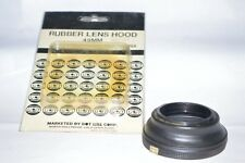 49 MM Dot-Line NEW Collapsible Screw-In Lens Hood w Inside Filtr Thrds (H-6)