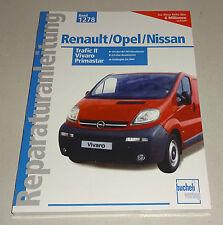 Reparaturanleitung Renault Trafic II / Opel Vivaro / Nissan Primastar - bis 2004