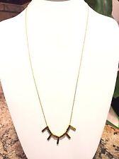 Gorjana 'Kit' Long Strand Necklace Gold Tone