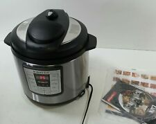 Instant Pot Lux 6-in-1 Electric Pressure Cooker, Sterilizer Slow Cooker