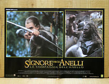 IL SIGNORE DEGLI ANELLI COMPAGNIA DELL'ANELLO fotobusta poster Lord Of Ring X13