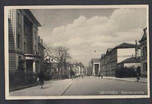 843 /AK Meiningen Bernardstraße 1936