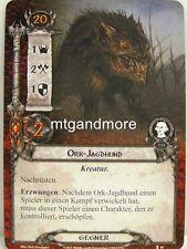 Lord of the Rings LCG  - 1x Ork-Jagdhund  #040 - Die Stimme Isengards