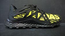 adidas Men's Size 11 Vigor Bounce Trail Shoes BB8380 Black Yellow