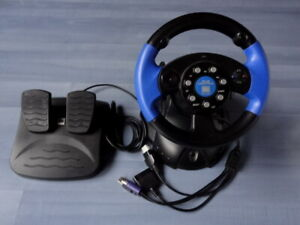 Speedlink Lenkrad 4in1 Racing Wheel SL-6685 f. PS1 PS2 , GameCube Xbox