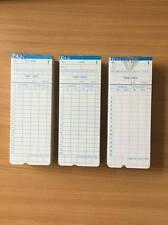 Tarjetas Para Grabador De Tiempo Reloj máquina de temporización en modelo mensual-Paquete de 300