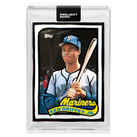 Topps PROJECT 2020 Card 148 - 1989 Ken Griffey Jr. by Joshua Vides