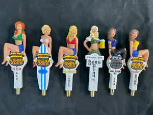 Holy Grail lot - Complete set of six Original Joe's beer tap handles - VHTF NEW