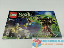 ⭐️LEGO 9463 MONSTER FIGHTERS THE WEREWOLF - INSTRUCTION MANUAL ONLY - GRADE B⭐️