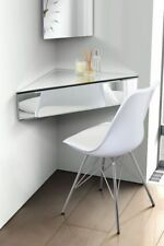 Floating Mirrored Shelf Venetian Glass Furniture Corner Bedside Table Wall Unit